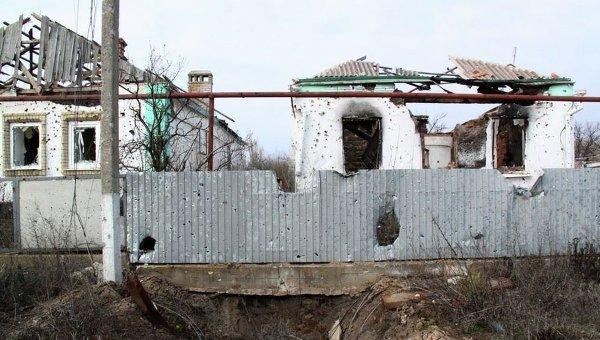 Разрушенное Широкино