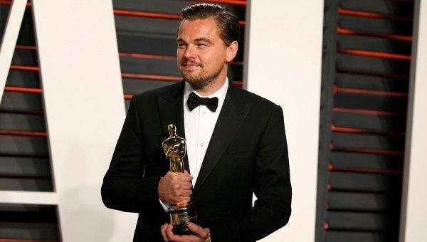 Леонардо Ди Каприо на премии Оскар-2016