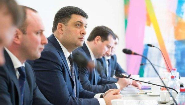Владимир Гройсман на переговорах с заместителем генерального секретаря НАТО Александром Вершбоув Брюсселе