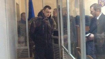 Заседание суда по избранию меры пресечения Станиславу Краснову