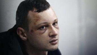 Глава гражданского корпуса Азов-Крым Станислав Краснов на суде