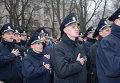 Присяга патрульной полиции. Архивное фото