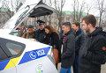 Присяга патрульной полиции в Черкассах