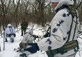 Мобильная группа попала в засаду под Трехизбенкой