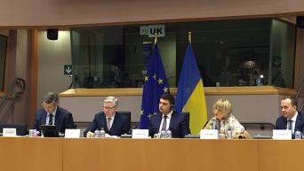 Заключительная сессия украинской недели в Европарламенте