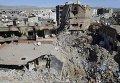 Разрушения в курдском городе Джизре, что на юго-востоке Турции, на стыке границ с Сирией и Ираком.