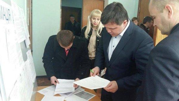 Семен Семенченко - кандидат в мэры Кривого Рога