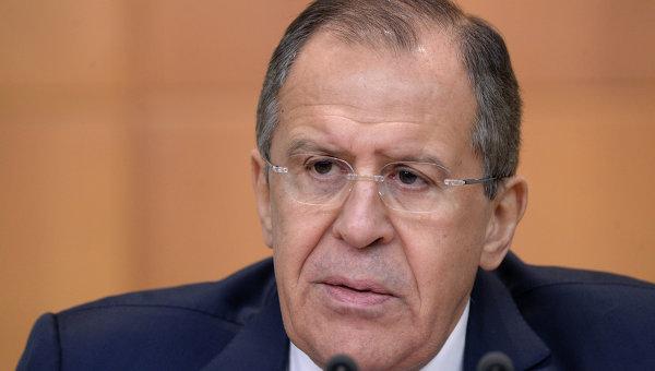Пресс-конференция министра иностранных дел РФ С. Лаврова по итогам 2015 года