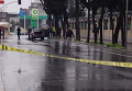 На месте нападения на полицейский участок в Стамбуле