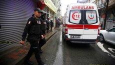 Скорая помощь в Стамбуле. Архивное фото