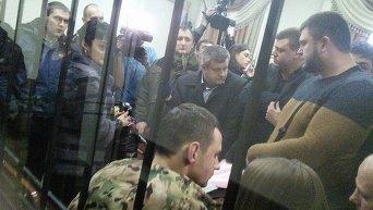 Станислав Краснов на заседании суда