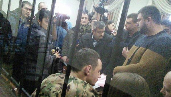 Станислав Краснов на заседании суда. Архивное фото