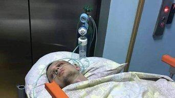 Станислав Краснов в больнице без сознания
