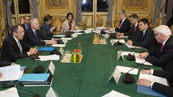Встреча глав МИД стран нормандской четверки в Париже