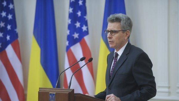 Посол США в Украине Джеффри Пайетт. Архивное фото