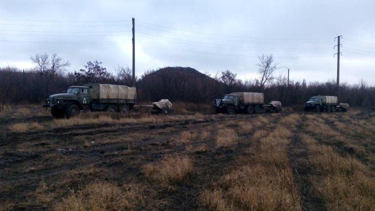 В зоне АТО 25 бригада ВДВ разворачивает новые артиллерийский системы