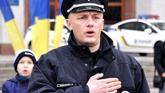 Присяга полицейских Полтавы