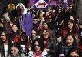 Женская демонстрация в Стамбуле