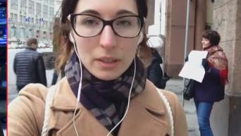 Одиночный пикет в поддержку Савченко в Москве