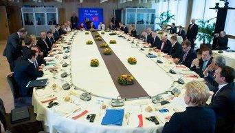 ЕС согласовал с Турцией принципы совместного решения миграционного кризиса