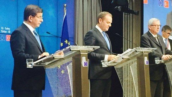 ЕС и Турция договорились отменить визы, самое позднее, к концу июня - Давутоглу