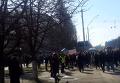 Акция под посольством РФ в Киеве с требованием освободить Савченко. Видео