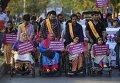 Митинг по случаю Международного женского дня в Исламабаде, Пакистан. Архивное фото