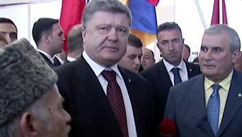 Порошенко потребовал немедленного освобождения Савченко. Видео