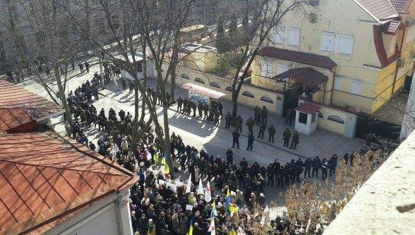 Пикет у консульства РФ в Харькове