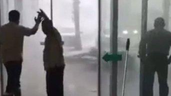 Дубаи, шторм