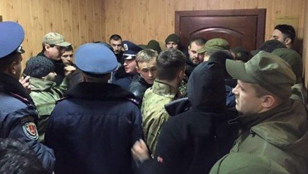 Драка на суде в Одессе