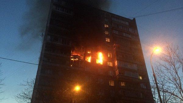 Взрыв газа в жилом доме на юго-востоке Москвы