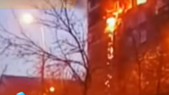 На месте взрыва газа в многоэтажке Москвы