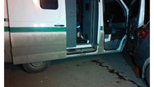 Нападение на инкассаторов в Одессе