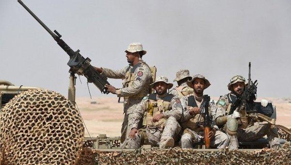 Военные в Саудовской Аравии. Архивное фото
