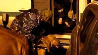 Новые кадры нападения на инкассаторов в Одессе