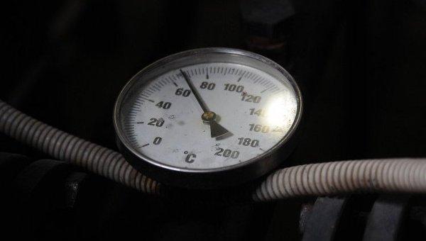Термометр на газовом котле