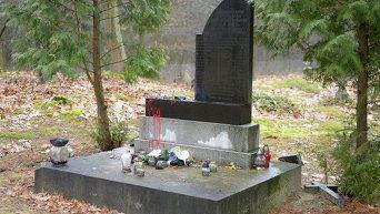 Осквернение памятника УПА в Польше