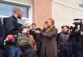 Жители Яготина под Киевом выступили против беженцев из Сирии. Видео