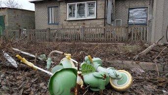 Заброшенный дом в зоне АТО
