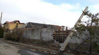 Разрушения в зоне АТО