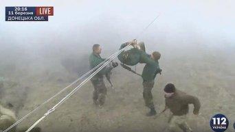 25-я воздушно-десантная бригада провела учения в Донецкой области