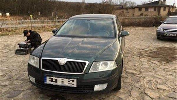 В Ужгороде перехватили авто с подозреваемыми в стрельбе в Мукачево