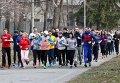 Пробег в поддержку Крыма Run for Crimea в Киеве