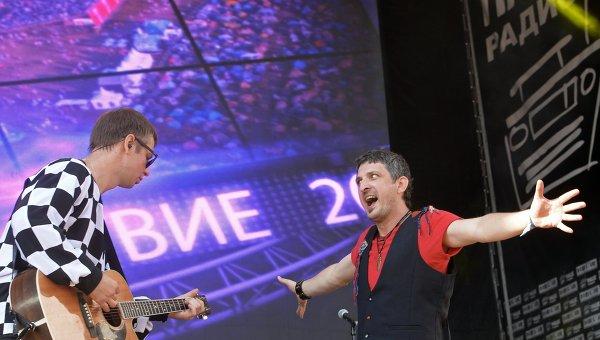 Участники группы Ундервуд Владимир Ткаченко и Максим Кучеренко