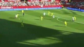 Невероятный гол Коноплянки в матче с Вильярреалом. Видео