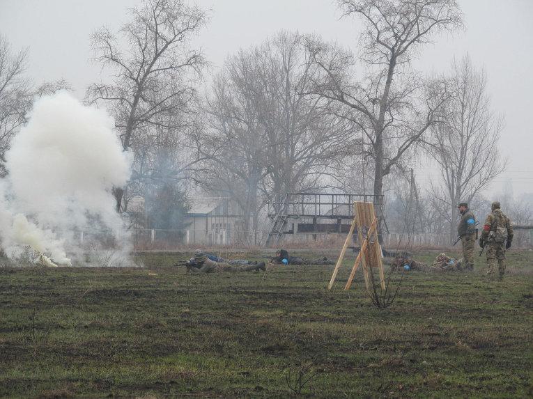 Территориальная оборона Харькова готовится отражать нападение