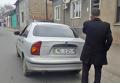 На месте задержания прокурора в Мукачево