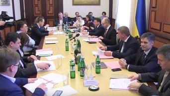 Внеочередное заседание Кабмина. Прямая трансляция