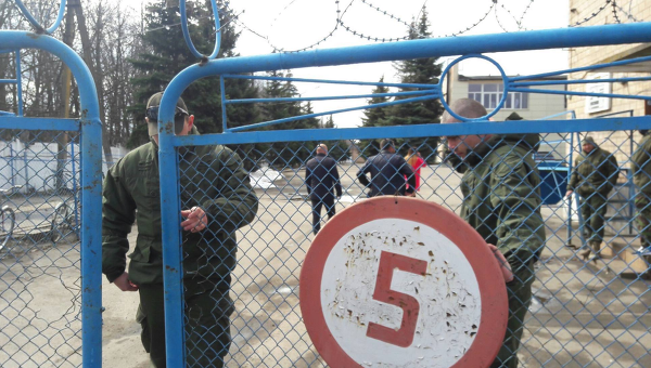 Блокирование Хорольского завода детских продуктов вооруженными людьми